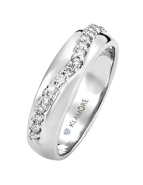ffef7d44f89b Argolla de oro 18 k Klamore Miloro diamante