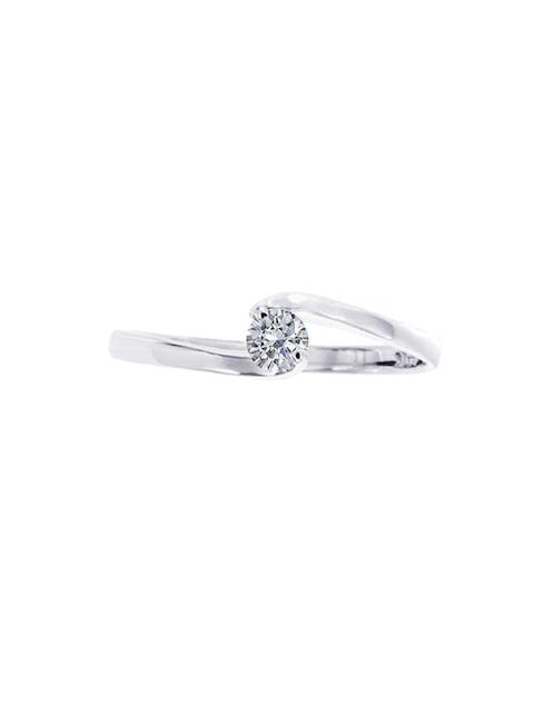 2502dbde2033 Solitario de oro 14 k Klamore diamante