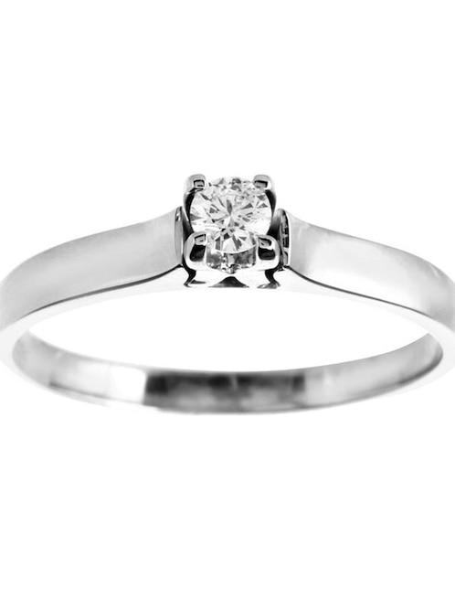 59072c3405a8 Solitario de oro 14 k Valessa diamante
