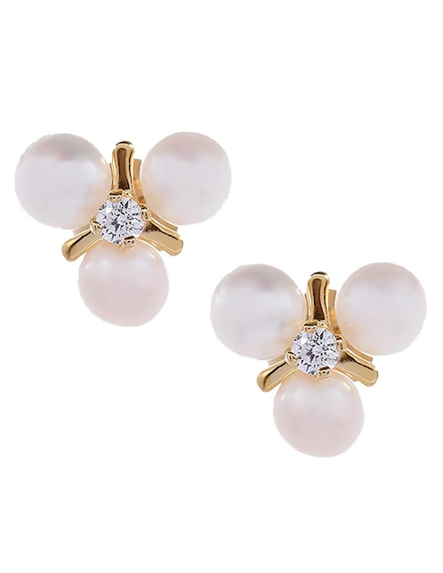 3a4ef1ebebac Broqueles de oro 14 k Roca perla Precio Sugerido
