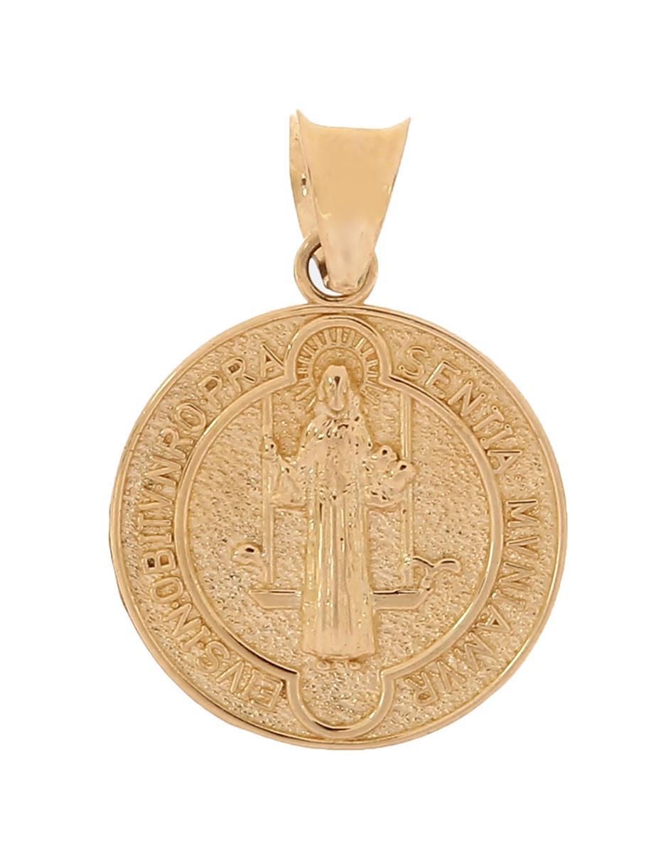 7492f3dbd53d Medalla de oro 14 k SINI San Benito