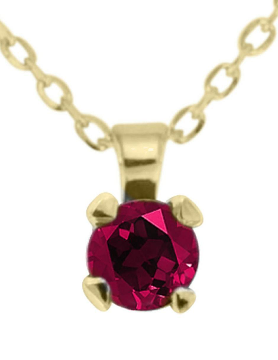 lo último 84174 4bc34 Collar de oro 14 k Fascinare Karla rubí en Liverpool
