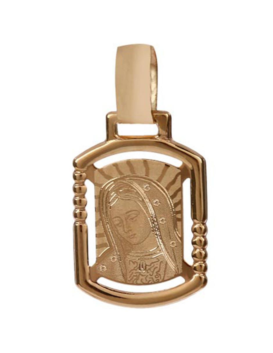 799d6931fbf Medalla de oro 14 k SINI Virgen de Guadalupe