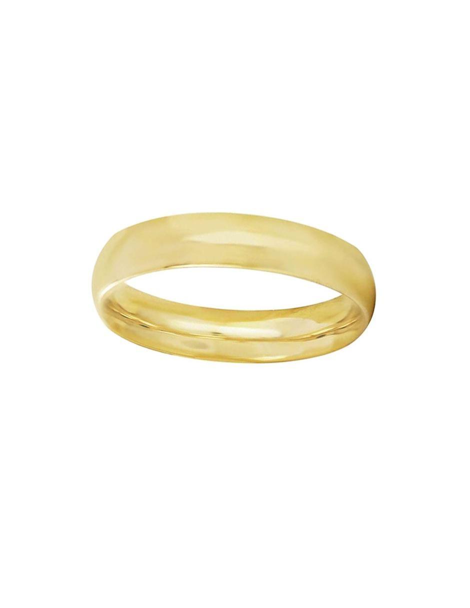 cc9b099bb165 Argolla de oro 14 k D Cadena Confort pulido